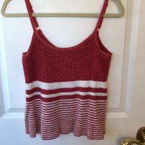 Tank top sweater